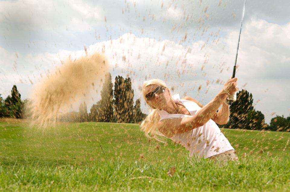 matériel de golf