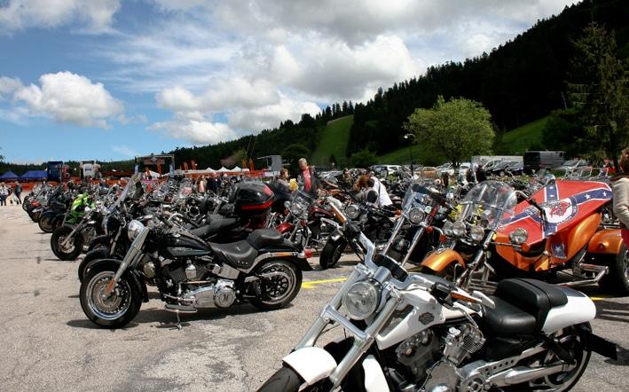 balade en moto dans les Vosges